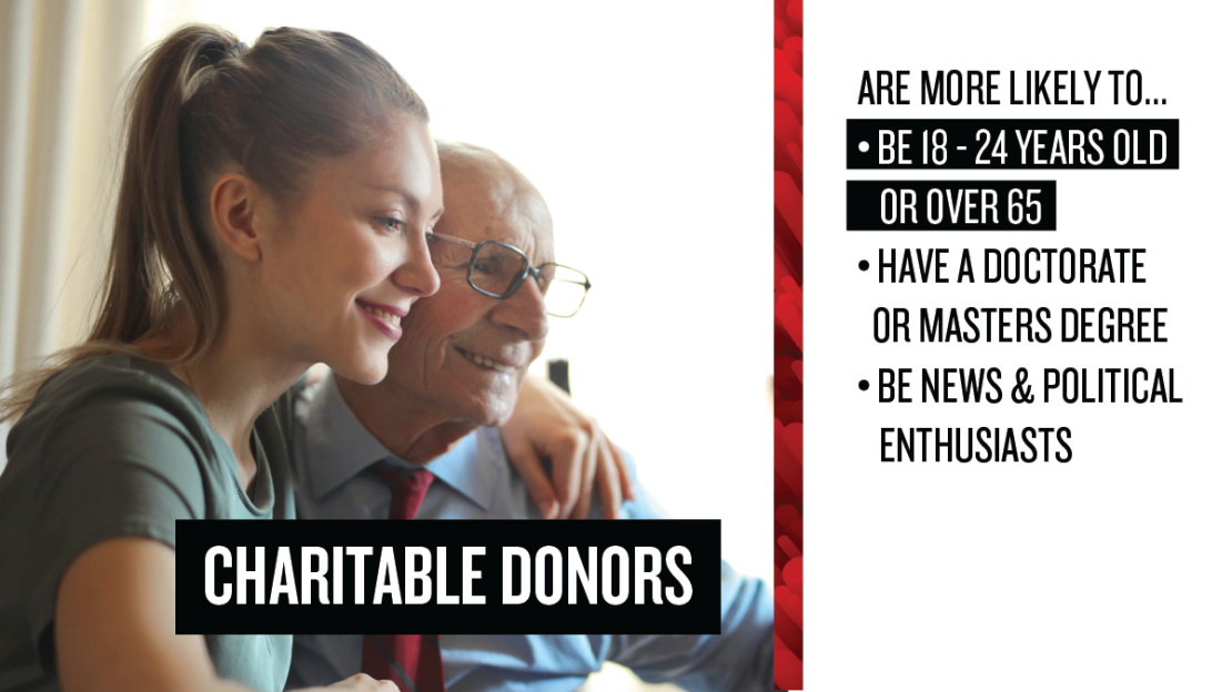 Holiday Charitable Donor Profile Example 2