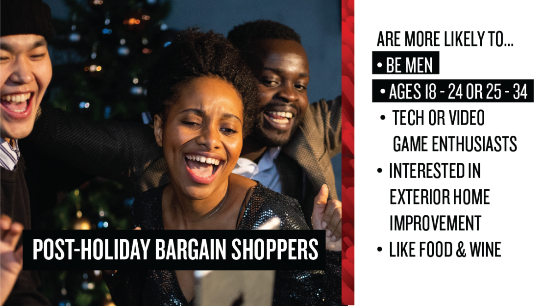 Post-holiday Bargain Shopper Profile